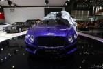 宾利全新欧陆GT V8 S 亮相成都车展