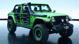 Mopar版Jeep牧马人 外观内饰细节实拍