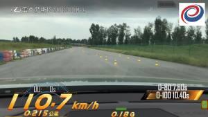 全新 ES300h 超级评测空载刹车测试