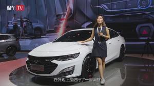 直击2018广州车展:雪佛兰迈锐宝XL的脸也是越来越大