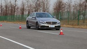 奔驰C260L超级评测满载刹车测试