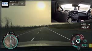 奔驰C260L超级评测操控稳定性测试