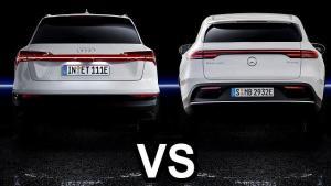 2019奥迪E与2019奔驰EQC科技性能比较,你喜欢谁呢