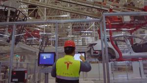 特斯拉上海超級工廠內部首度曝光