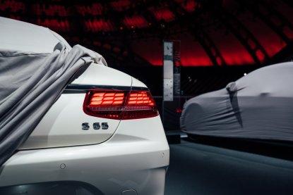 直击车展:新款奔驰S级Coupe全球首发