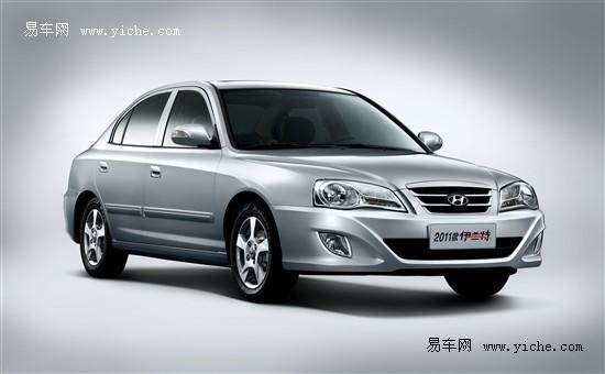 北京现代2011款伊兰特 推荐1.6手动舒适 高清图片