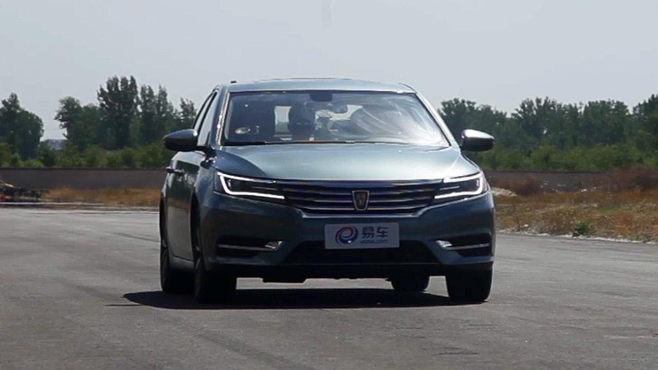 2017款荣威i6 100-0km/h满载刹车测试