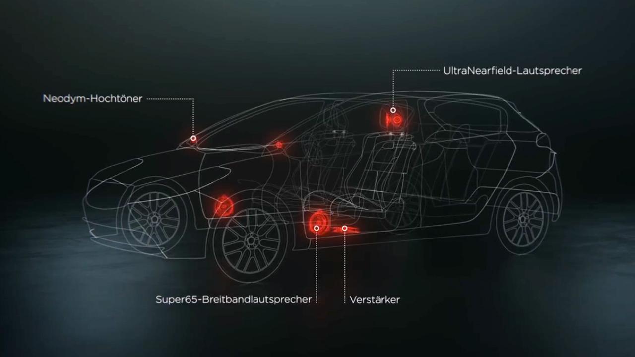日产玛驰 全面升级Bose音响环绕系统