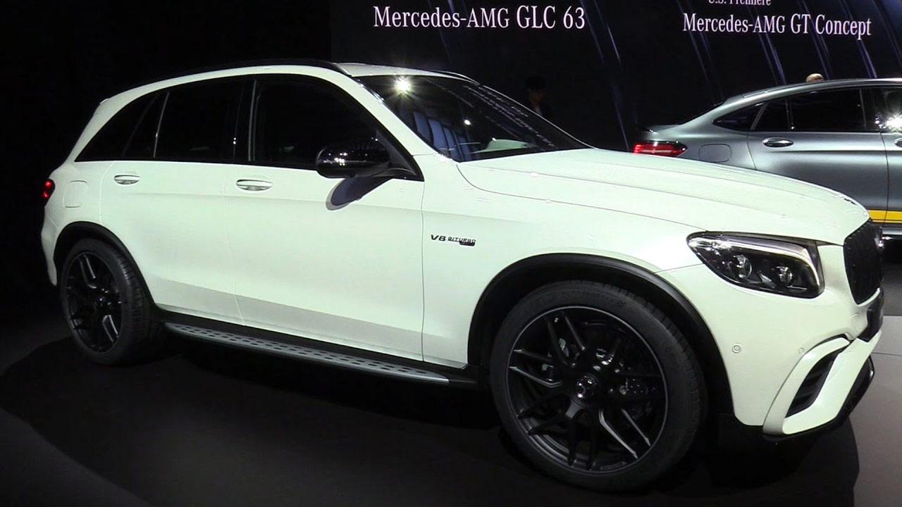 2018款奔驰AMG GLC 63 破百仅需3.8秒