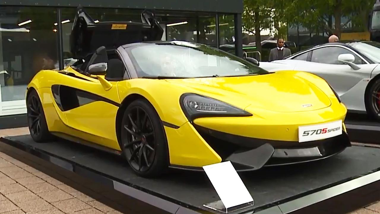 2017法兰克福车展 570S Spider亮相