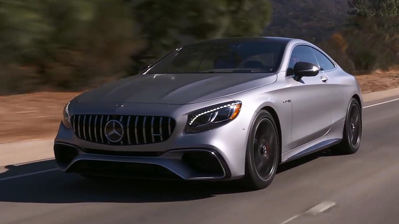 2018款奔驰AMG S63 外观细节实拍